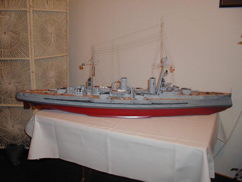 SMS Blucher Model